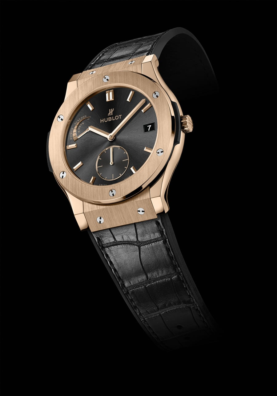 Hublot: Classic Fusion Power Reserve 8 Days, Rotgoldgehäuse