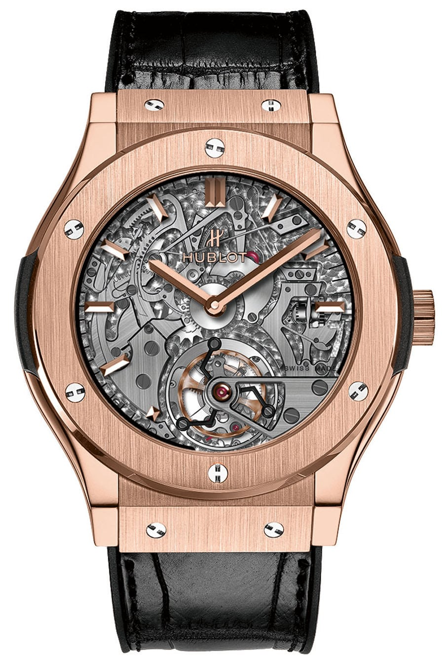 Hublot: Classic Fusion Tourbillon Minute Repeater, King Gold