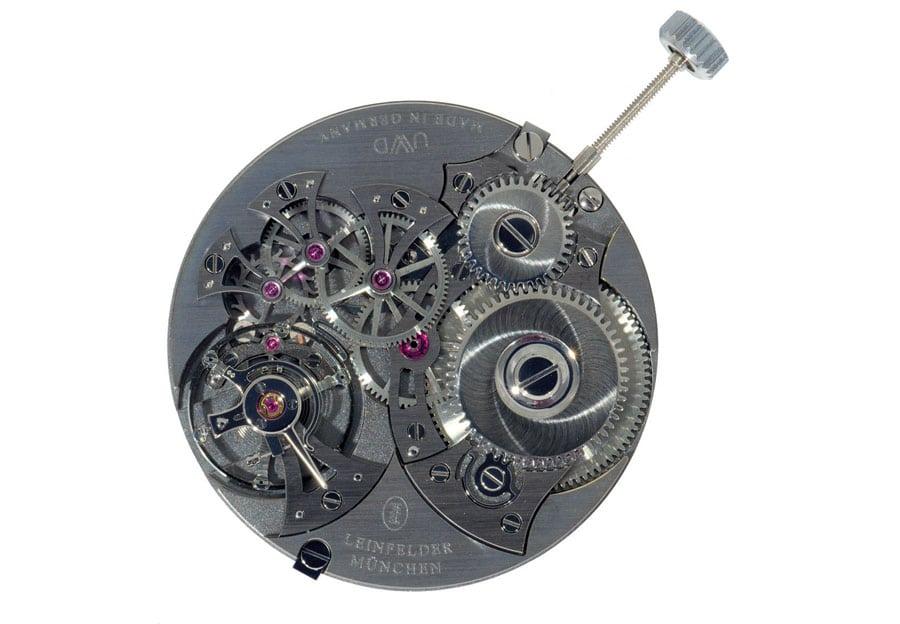 Leinfelder Uhren München: Handaufzugskaliber L-H01