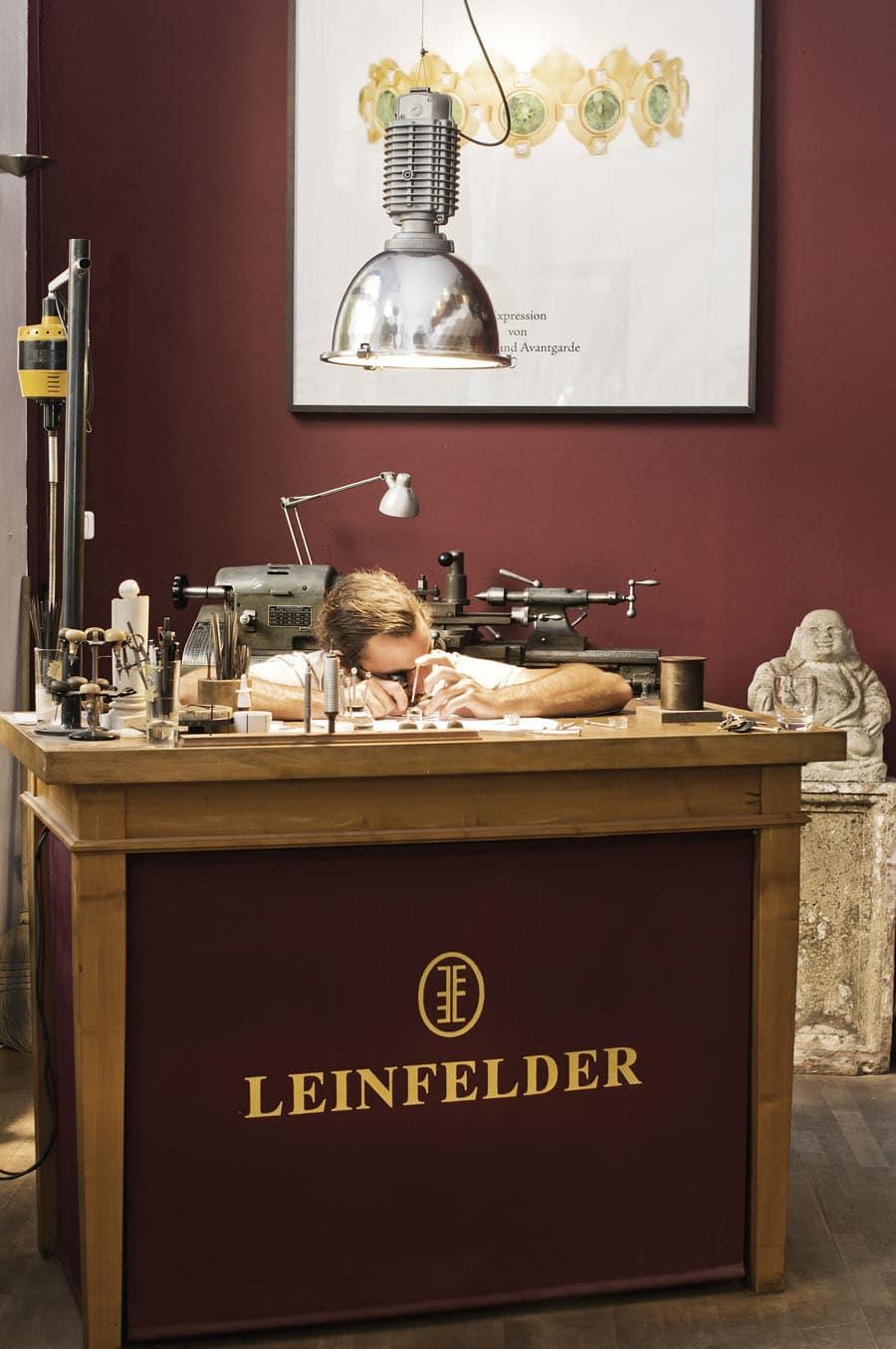 Leinfelder Uhren München: Manufaktur Made in Germany
