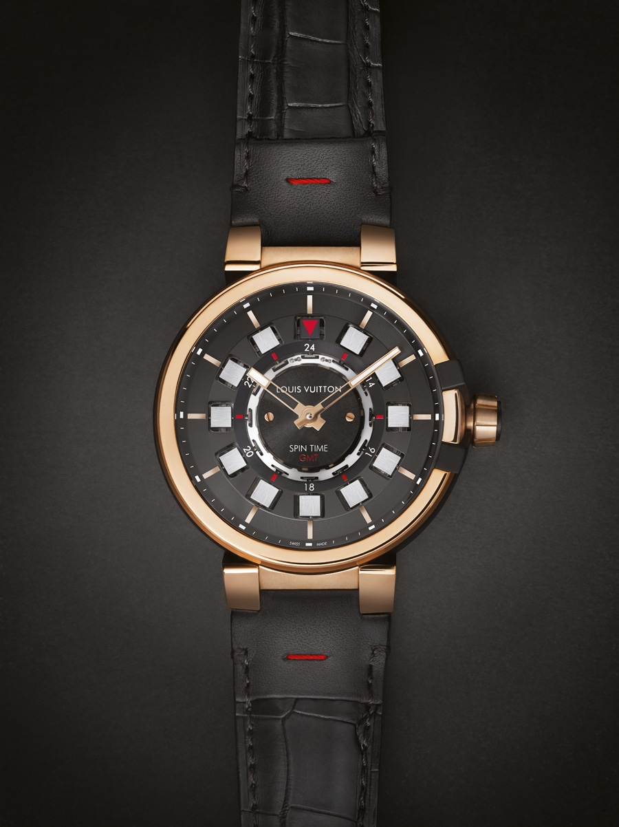 Louis Vuitton: Tambour eVolution Spin Time GMT
