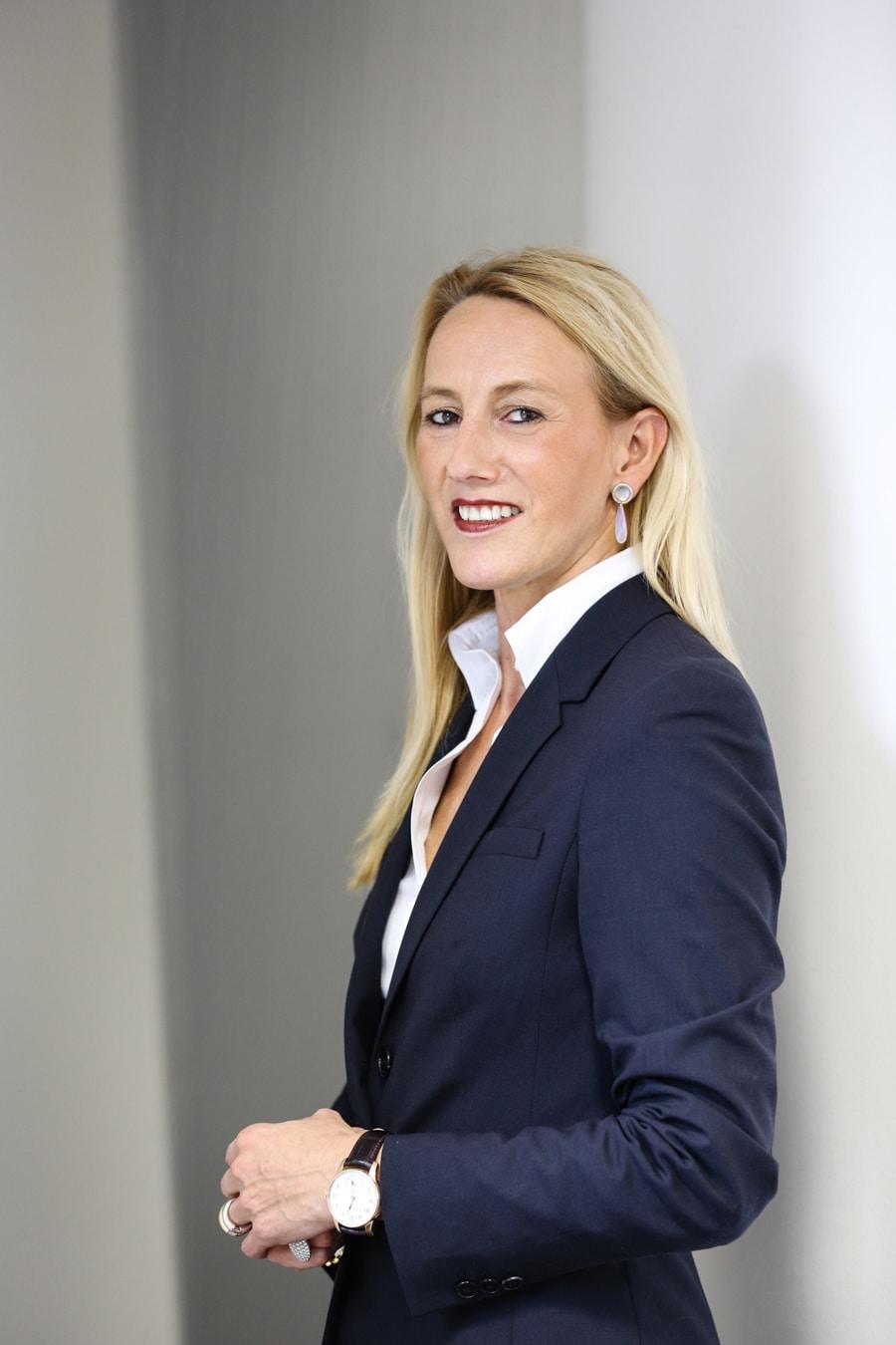 Moritz Grossmann: Christine Hutter, Geschäftsführerin