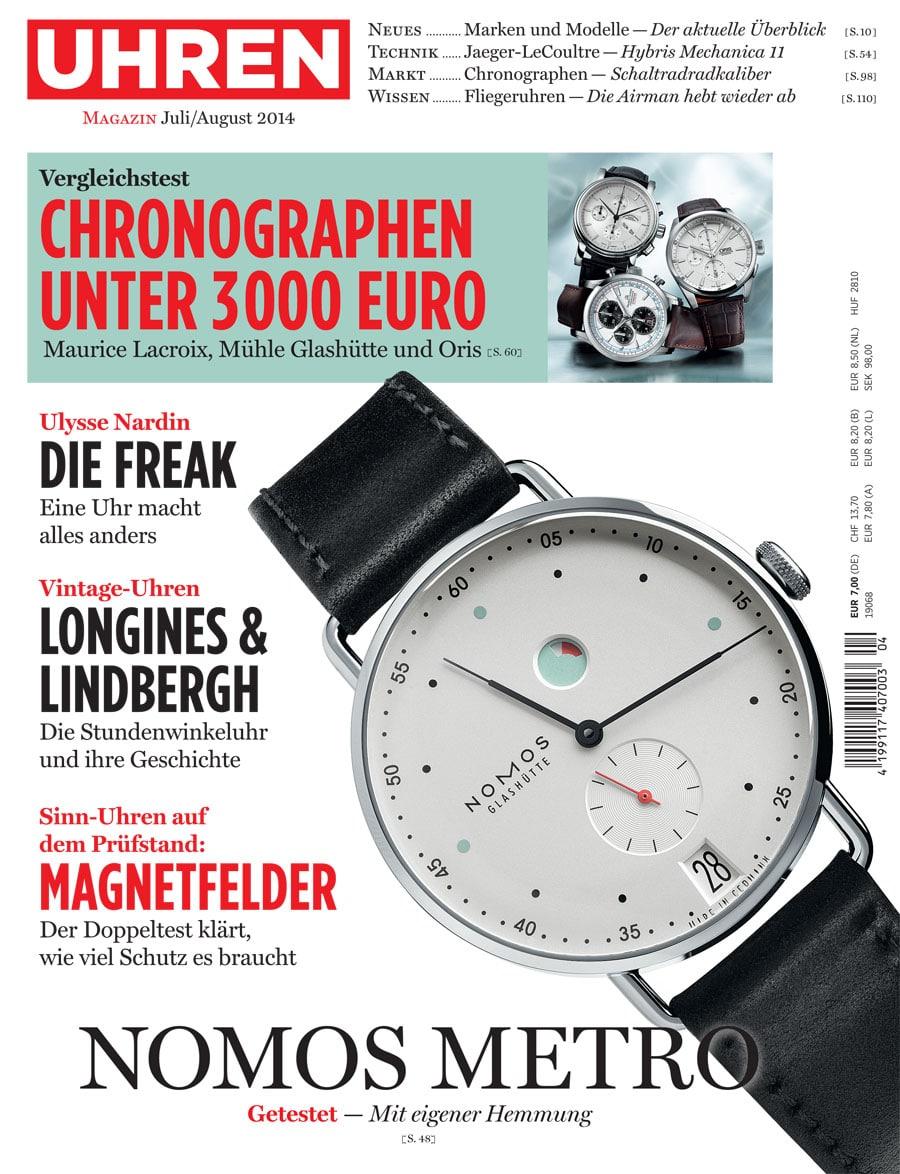 Uhren-Magazin: Juli/August 2014