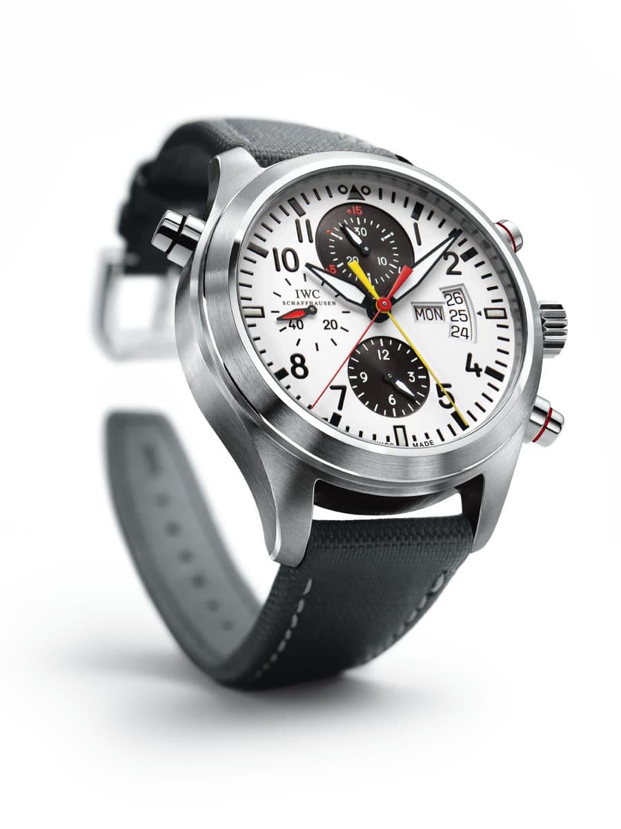 IWC Doppelchronograph Edition DFB von 2008