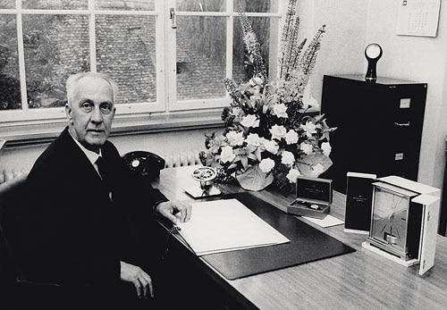 In der IWC Ingenieur kommt sein Aufzug zum Einsatz: Albert Pellaton