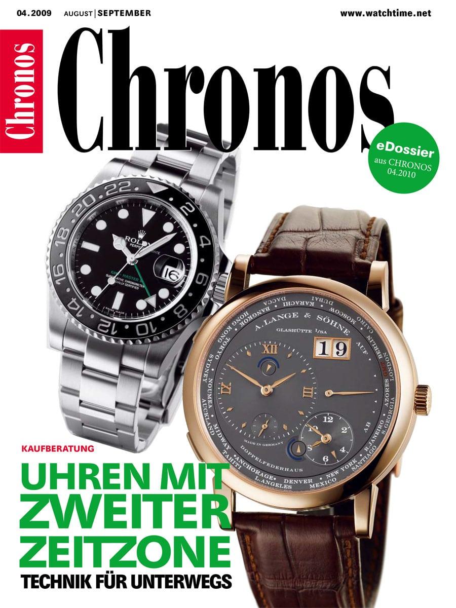eDossier: Uhren mit zweiter Zeitzone