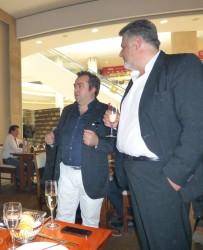 Antonio Terranova und Bedros Varjabetyan (Inhaber von Custos)