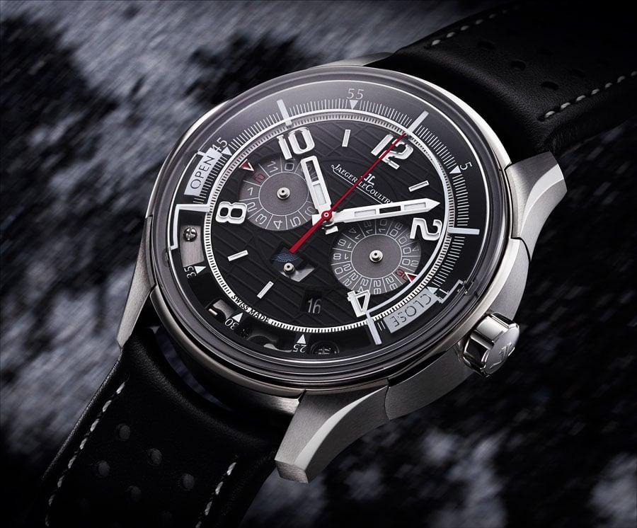 Jaeger-LeCoultre: der neue drückerlose Chronograph Amvox2 Transponder