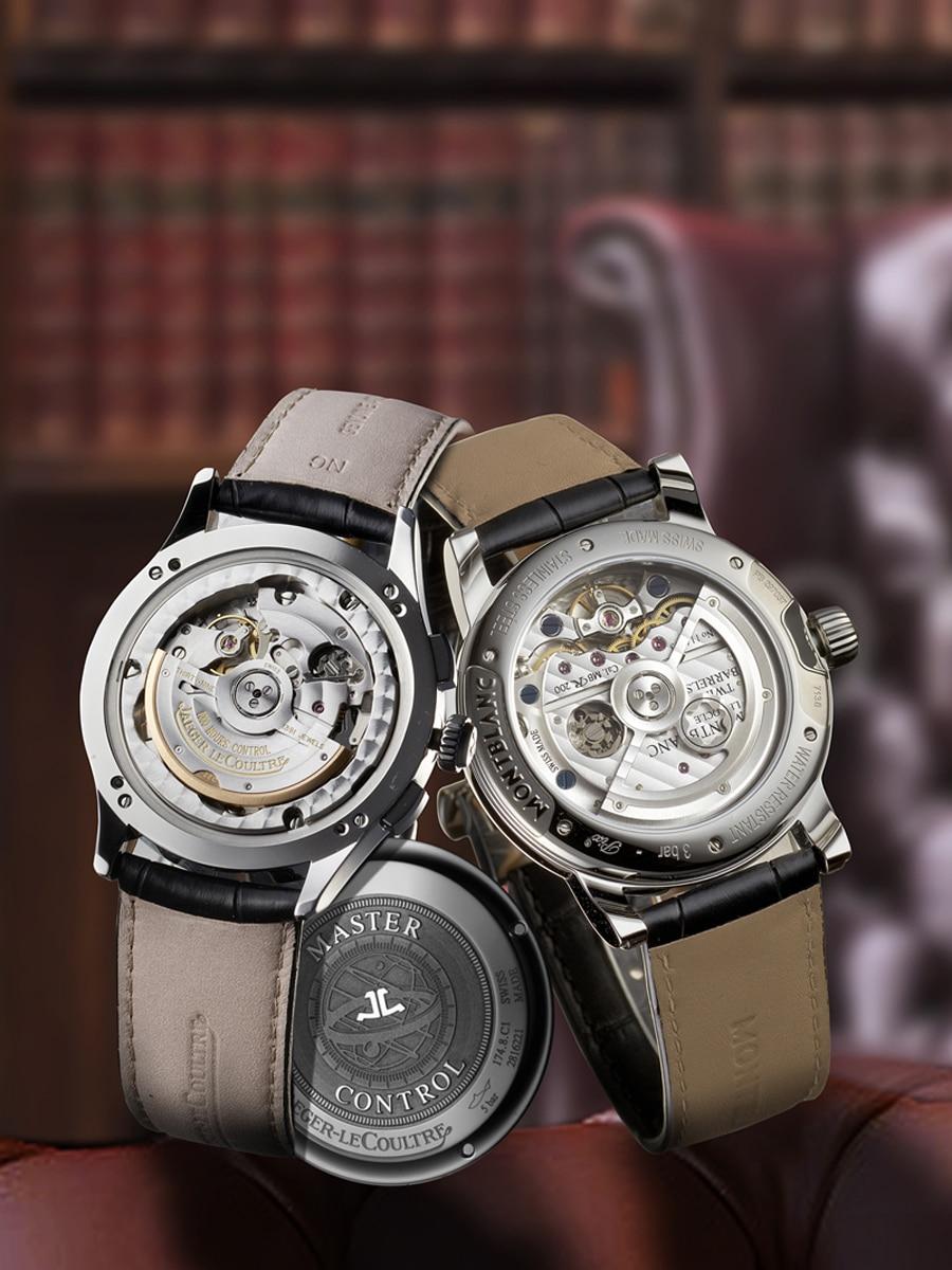 Jaeger-LeCoultre: Master Chronograph, Montblanc: Nicolas Rieussec Chronograph