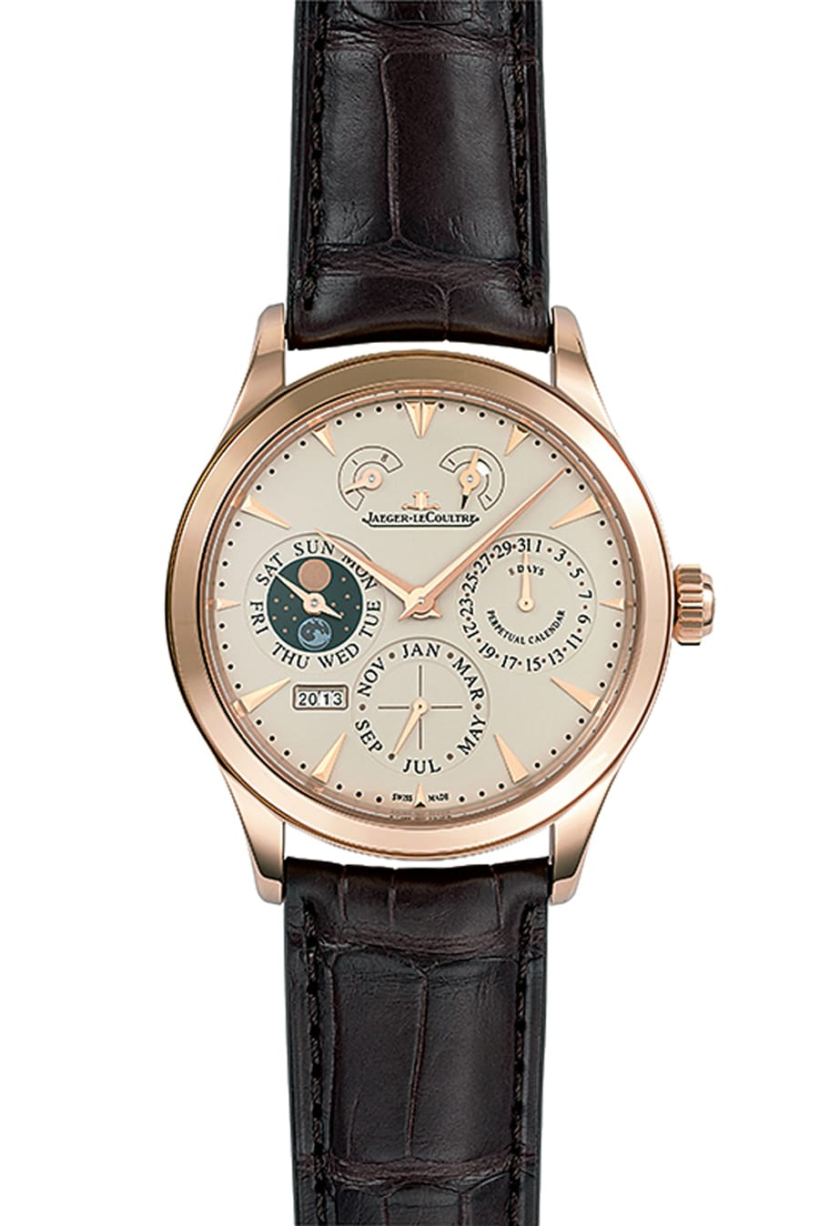 Jaeger-LeCoultre: Master Eight Days Perpetual