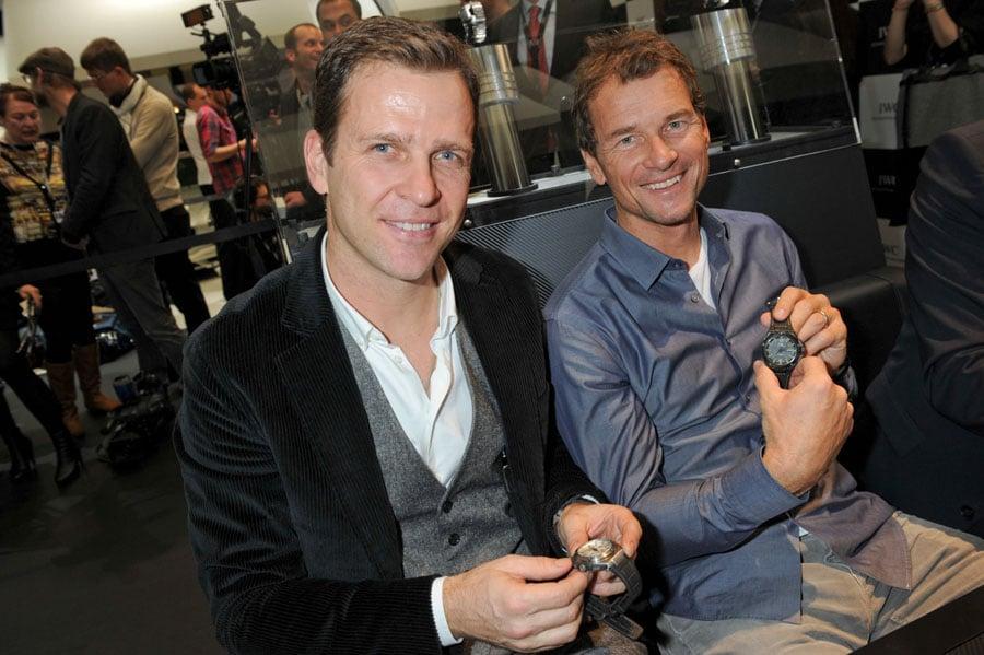 Oliver Bierhoff und Jens Lehmann