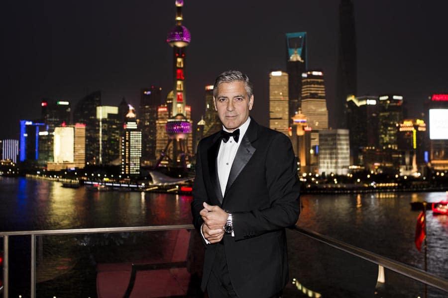 Omega: Markenbotschafter George Clooney lobt Engagement