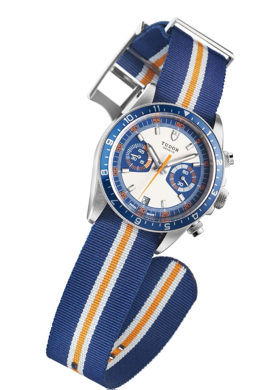 Tudor: Heritage Chrono Blue