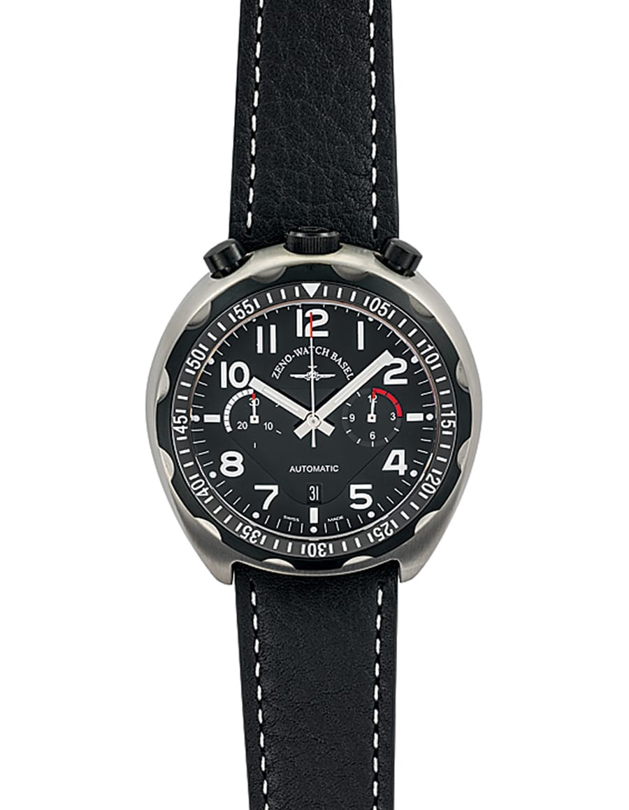 Zeno-Watch Basel: Bullhead Fliegerchronograph