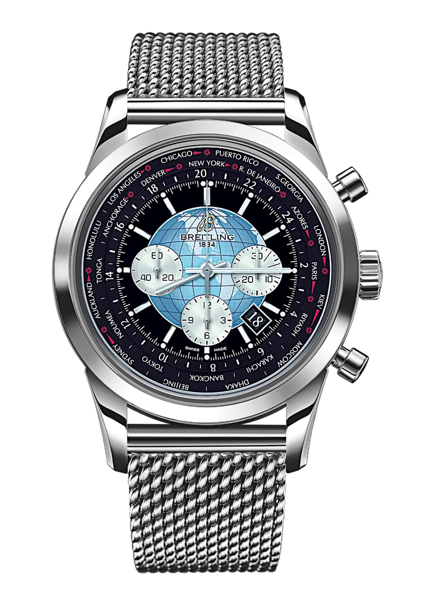 Breitling: Transocean Chronograph Unitime, 2012