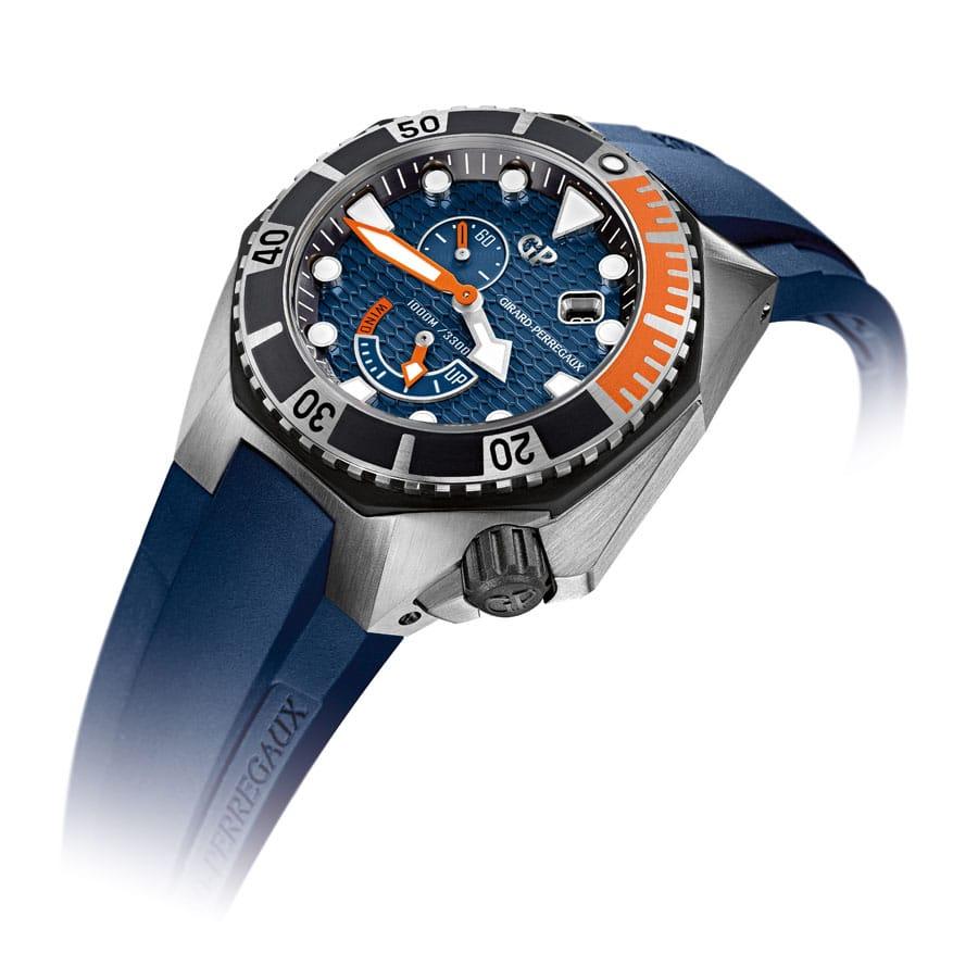 Girard-Perregaux: Sea Hawk Blue