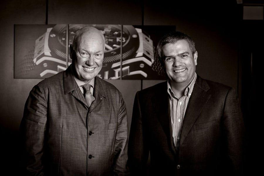 Hublot: Verwaltungsratsvorsitzender Jean-Claude Biver, CEO Ricardo Guadalupe