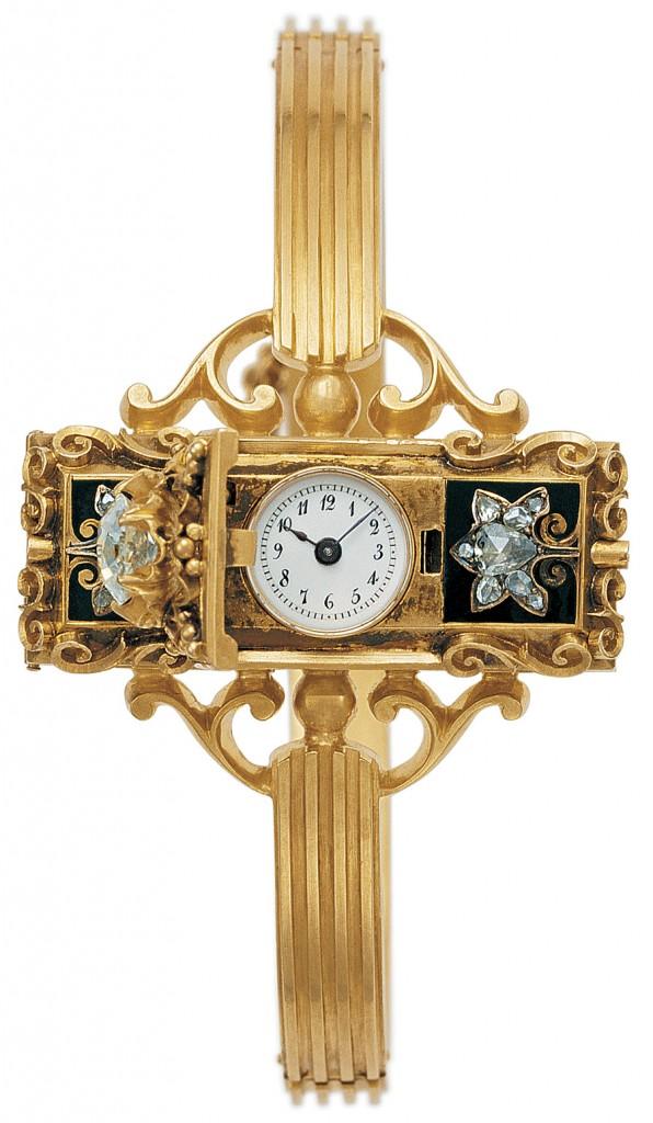 Les montres vintage de grande taille et surdimensionnées chez Patek Philippe Patek-philippe_erste-uhr-1868-596x1024