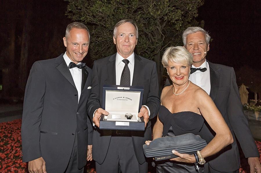 """Preis in der Kategorie """"Best of Show"""" 2014:  Lange 1 Zeitzone""""Como Edition"""""""