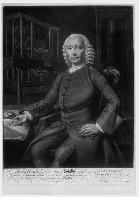Chronometer-Meister John Harrison