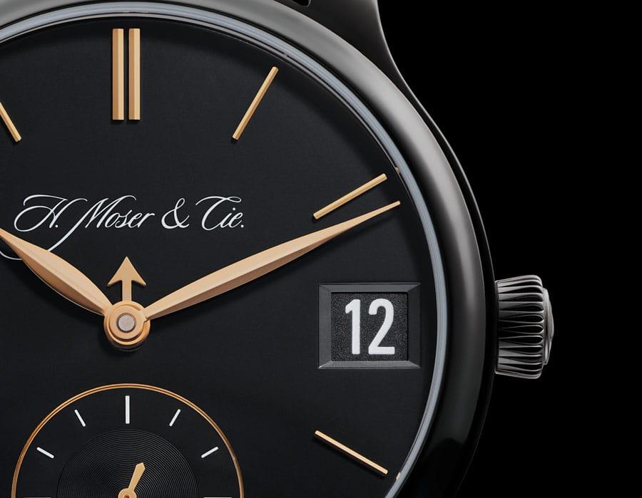 H. Moser & Cie.: Perpetual Calendar Black Edition