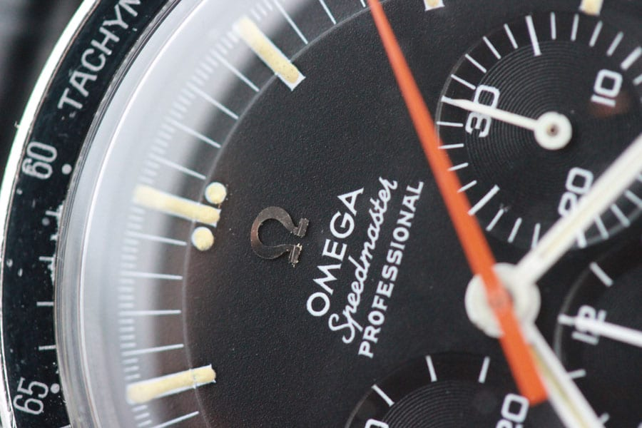 Die Omega Speedmaster Referenz 145.012 Buzz Aldrin war die erste Uhr auf dem Mond.