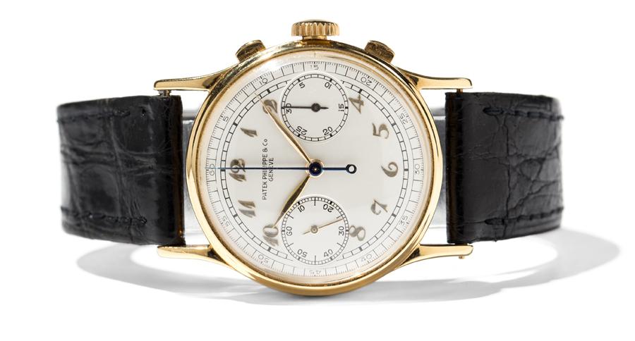 Patek Philippe: Rattrapante-Chronograph, Referenz 1436, 1939