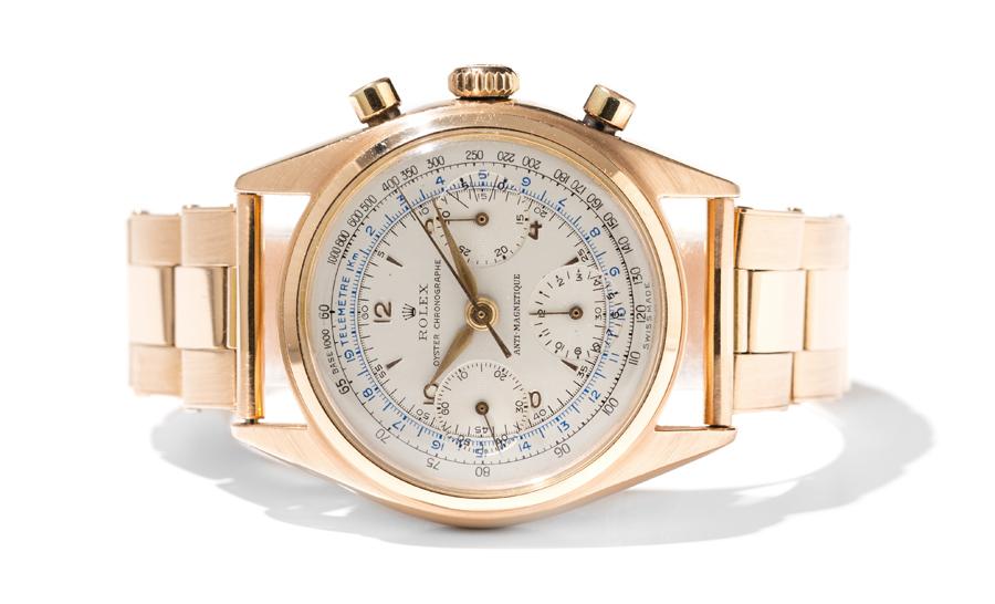 Rolex: Oyster Chronograph, Referenz 6034, um 1950