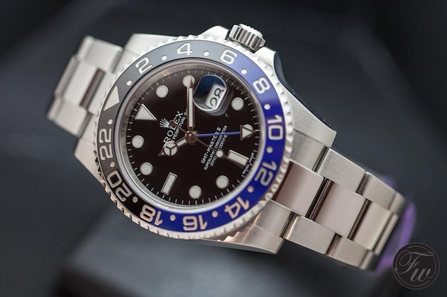 Rolex: GMT-Master II 116710BLNR von 2013