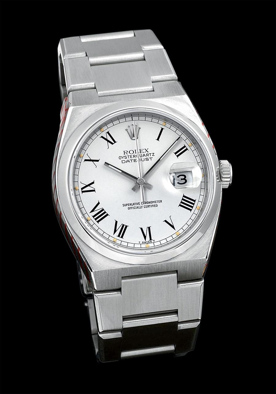 Rolex: Oysterquartz Datejust von 1979