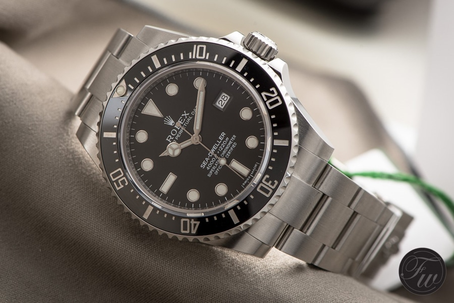 Rolex: Sea-Dweller 116600 von 2014