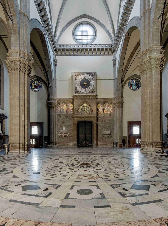 Santa Maria del Fiore, Florenz: Die Uhr von Paolo Uccello