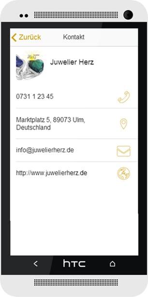 Watchtime Lokale Apps Kontaktdaten