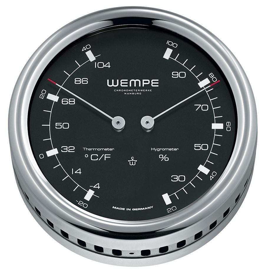Wempe Maritim: Pilot III Hygro- und Thermometer