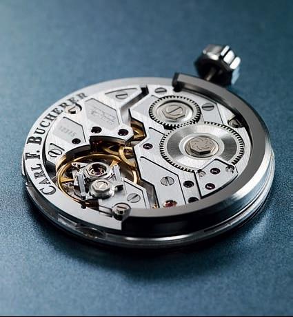 Manufakturkaliber mit peripherem Rotor von Carl F. Bucherer
