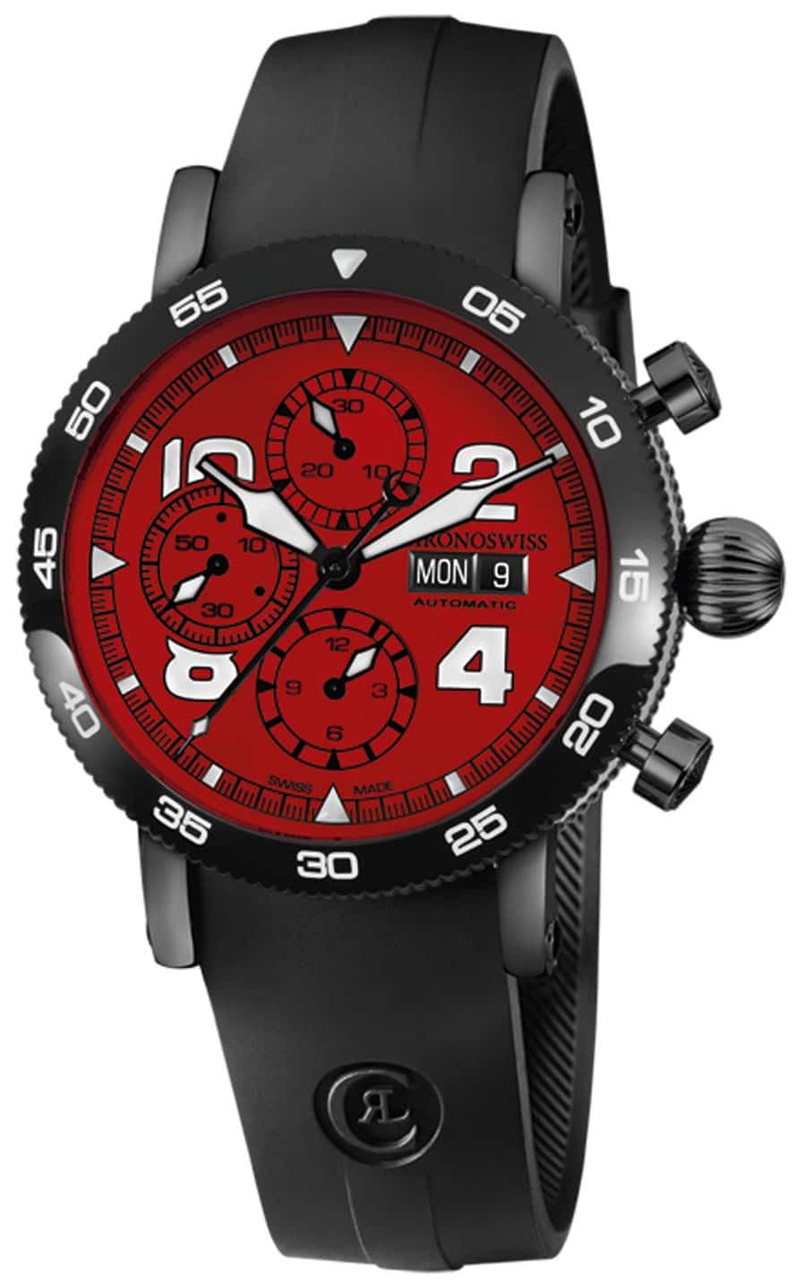 Chronoswiss: Timemaster Chronograph Day Date