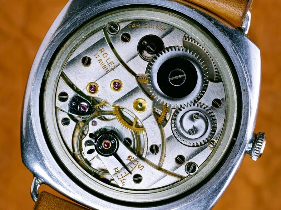 Panerai: Kaufhold-Radiomir, Rolex-Kaliber 618 / Typ 1