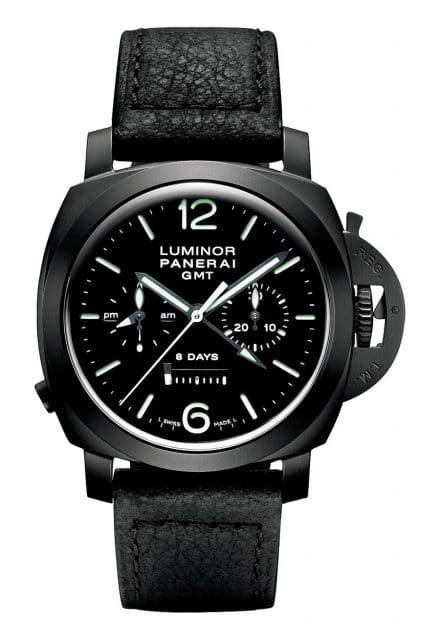 Paneria: Luminor 1950 Chrono Monopulsante 8 Days GMT Ceramica
