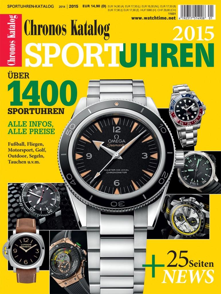 Chronos Sportuhren-Katalog 2014/2015