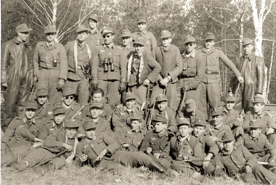 Vintage Panerai: Hanns-Martin Kaufhold mit Einsatzgruppe