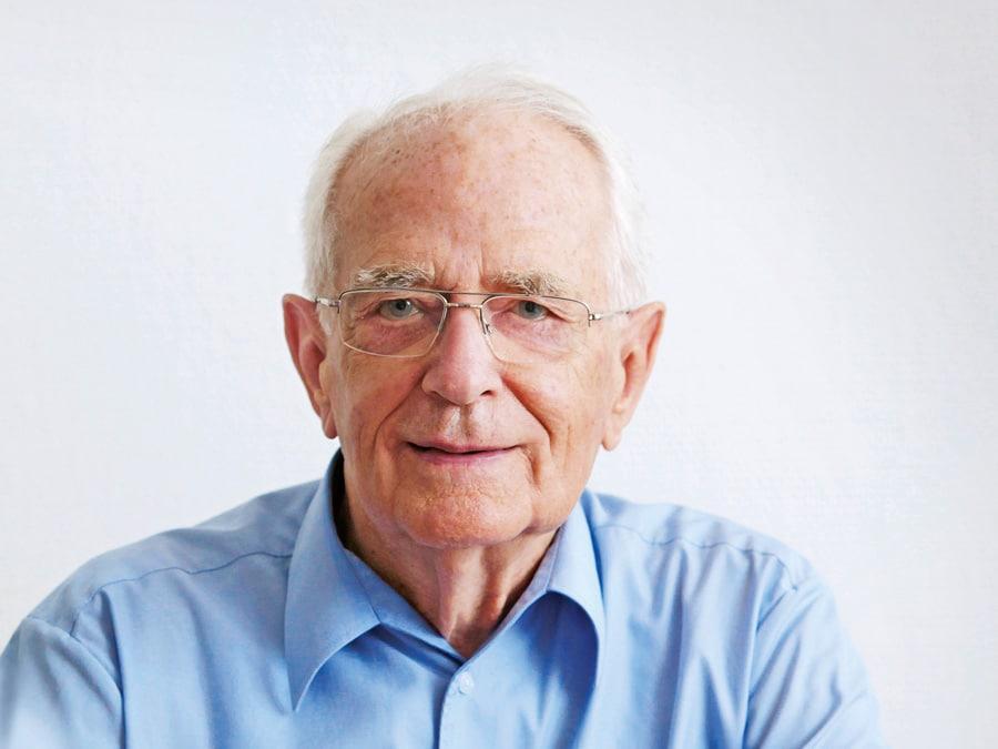 Walter Lange, der Neugründer von A. Lange & Söhne wird heute 90 Jahre alt.