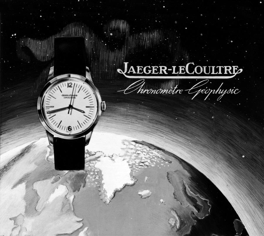 Die Jaeger-LeCoultre Chronomètre Geophysic von 1958