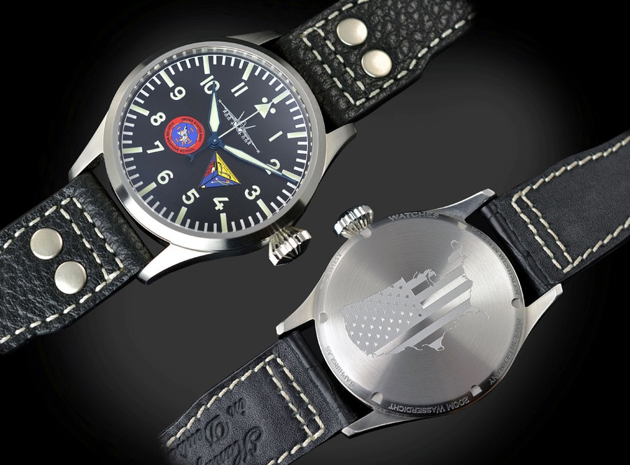 Tourby Watches: U.S. Strike Fighter Weapons School Pacific
