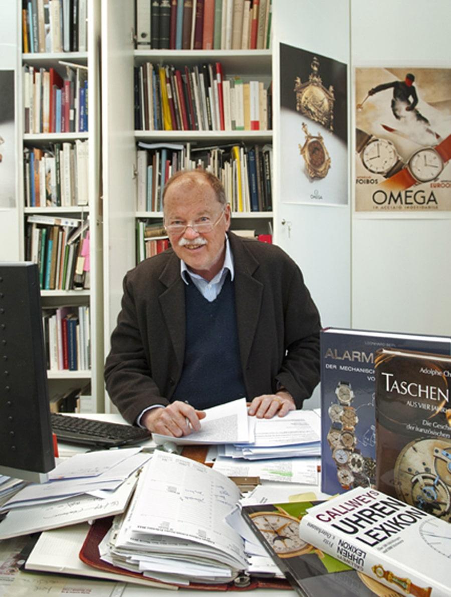 Klassik-Uhren-Chefredakteur: Christian Pfeiffer-Belli