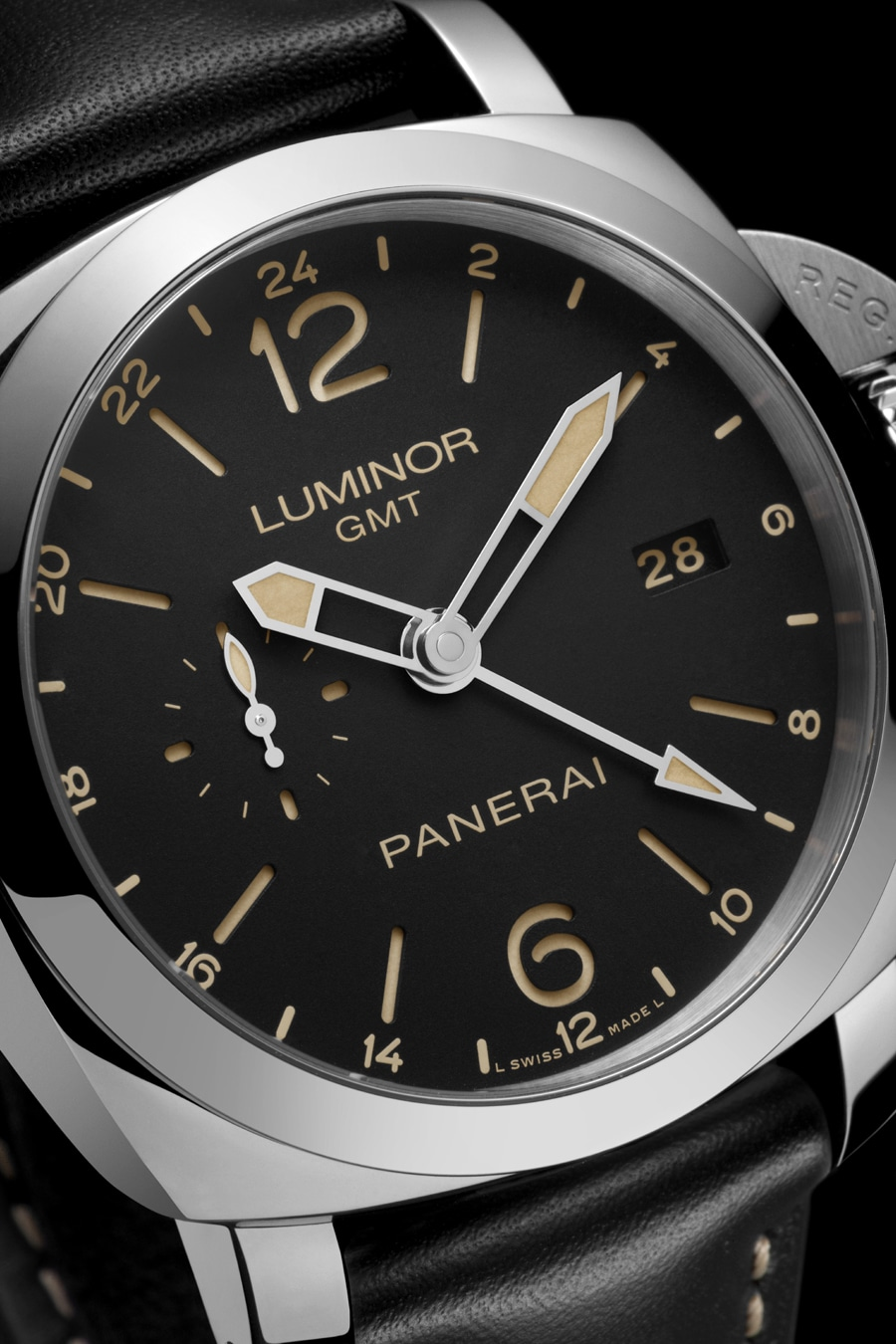 Panerai: Luminor 1950 3 Days GMT 24H Automatic Acciaio