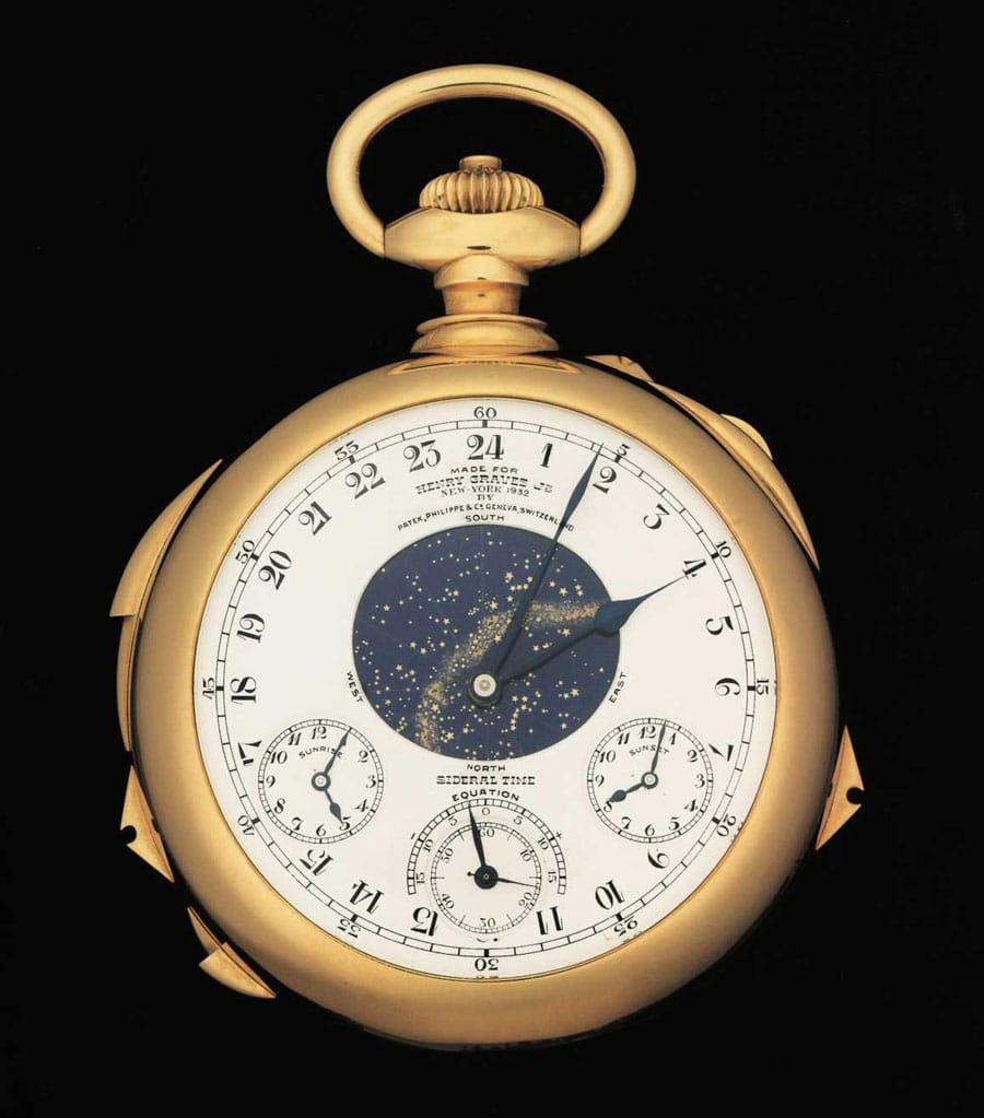 Kommt im November bei Sotheby's zur Versteigerung: Patek Philippe Henry Graves Supercomplication (Bild: SOTHEBY'S GENEVA)
