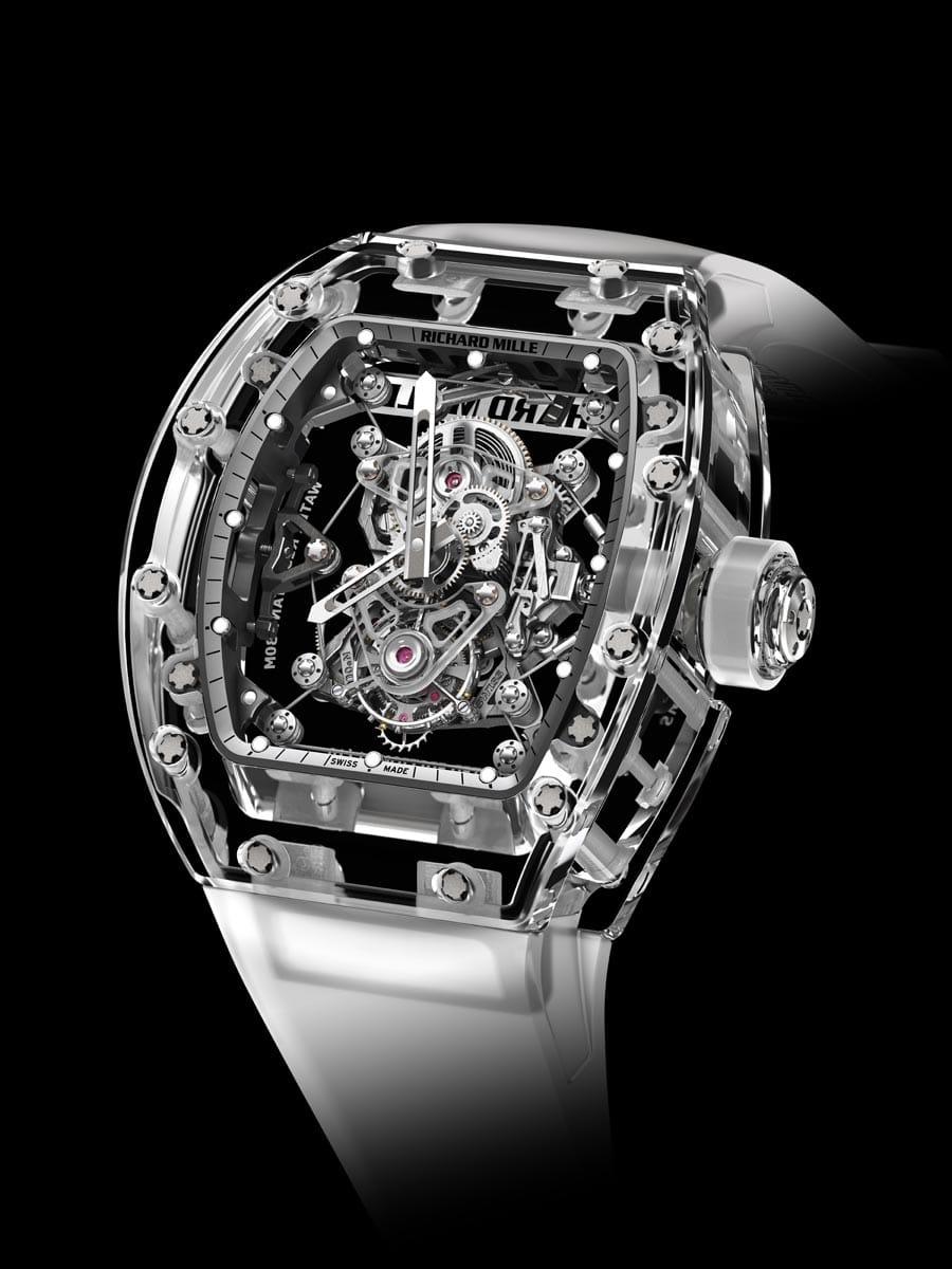 Richard Mille: Tourbillon RM 56-02 Sapphire