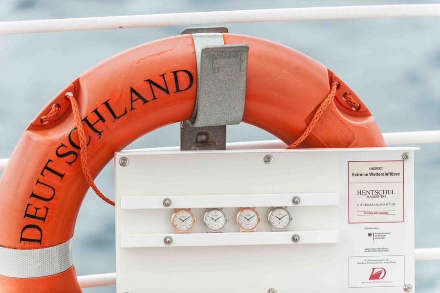 Uhrenmanufaktur Hentschel: Uhren an Bord des Kreuzfahrtschiffs