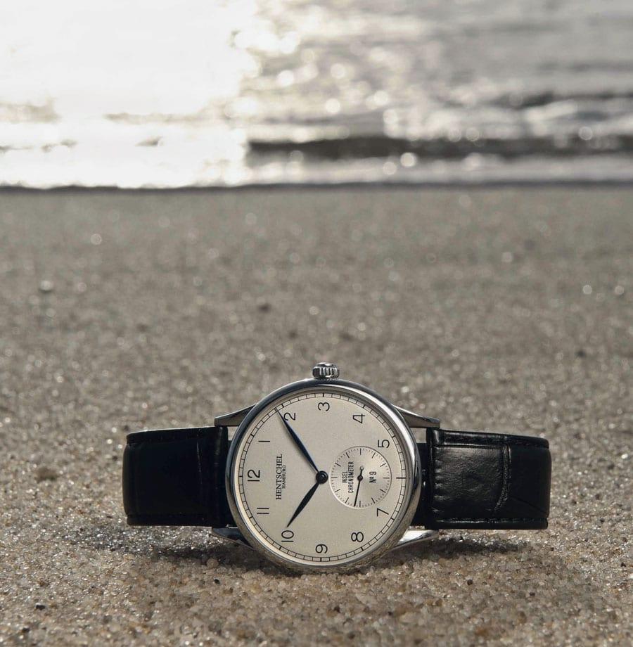Hentschel Hamburg Inselchronometer: diese Serie beinhaltet das hauseigene Werk