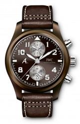 "IWC: Fliegeruhr Chronograph Edition ""The Last Flight"" Platinvariante"